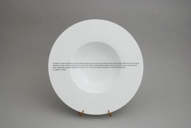 Poésie dans l'assiette